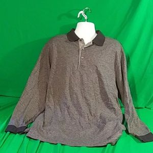 Daniel cremieux XL gray long sleeve sweater